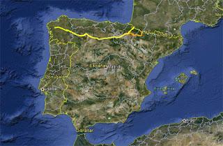 Camino de Santiago Francés y Camino de Santiago Aragonés.