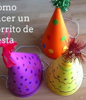 http://portaldemanualidades.blogspot.com.es/2014/01/como-hacer-bonetes-de-cumpleanos.html