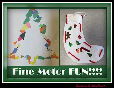 photo of: Christmas Holiday Fine Motor Fun at PreK+K Sharing