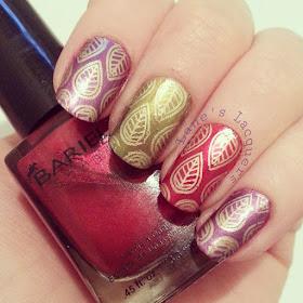 throwback-thursday-barielle-autumnal-gold-leaf-nail-art (2)