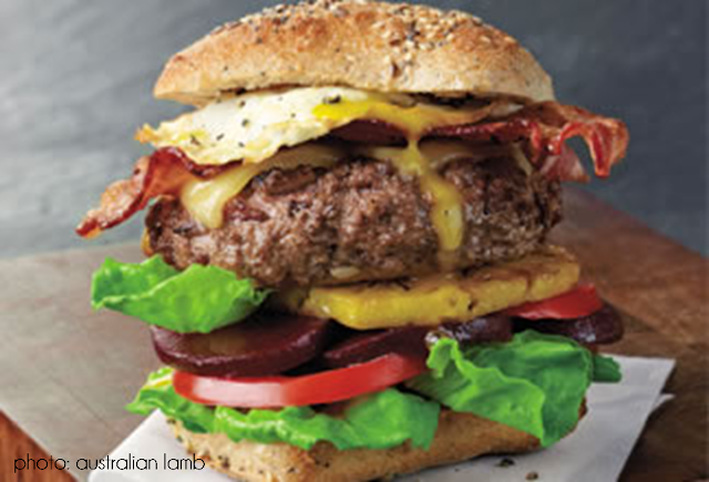 Ever since I saw this burger advertised in a magazine, Ihave been ...