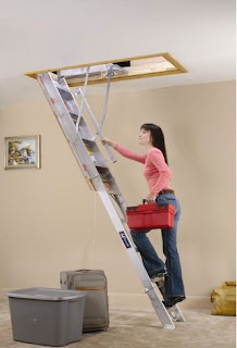 attic ladder