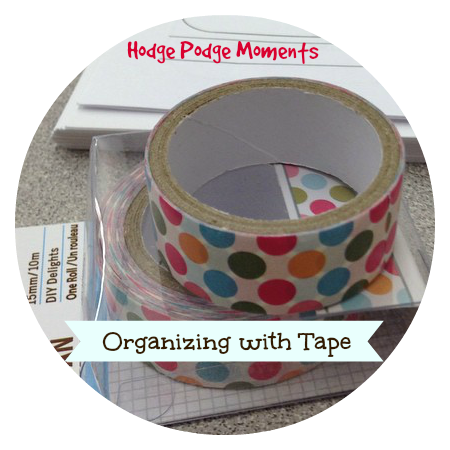 Organizing with Tape
