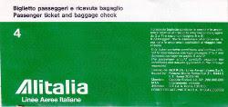 Biglietto Alitalia