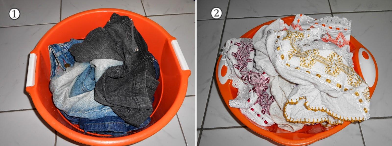 lavando roupa na máquina