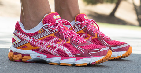 womens asics trainers pink