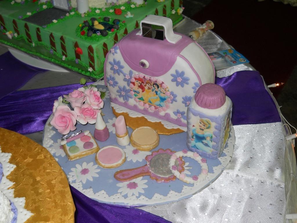 Victoriadelight 1 Year Old Birthday Cakes Princess Theme