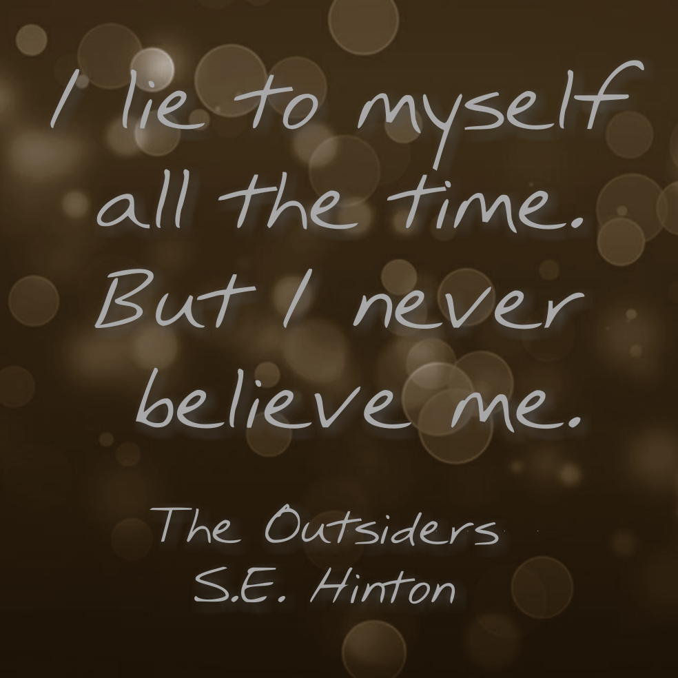 the confusing times in the outsiders by s e hinton Se hinton wrote most of the classic coming-of-age novel the outsiders when she was just 16 years old that year, she got a d in creative writing that year, she got a d in creative writing.