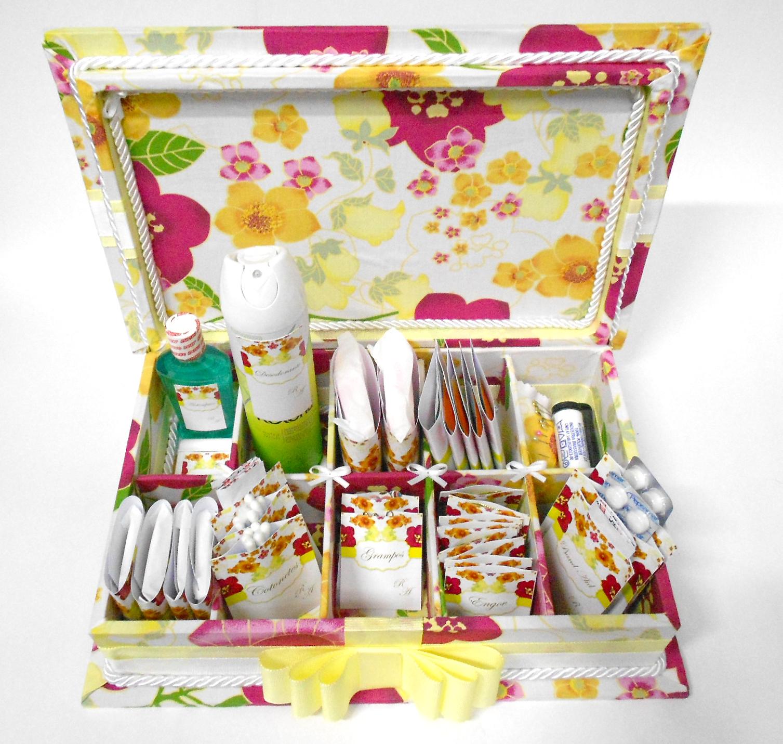 Caixa: Kit toillet caixa forrada em tecido para banheiro de festa de #AE901D 1507 1431