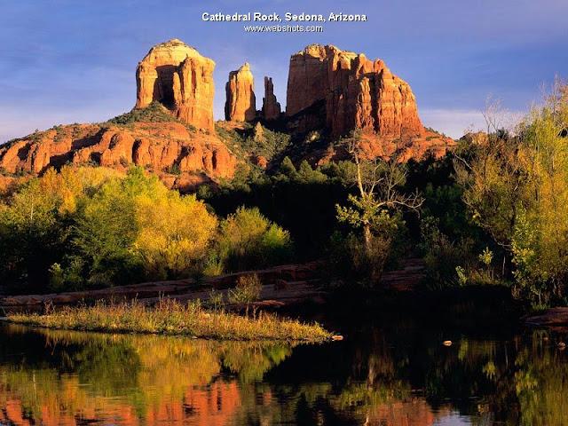 Cathedral Rock, Sedona, Arizona wallpaper