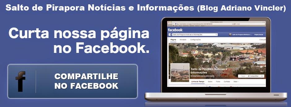 Salto de Pirapora Notícias e Informações no Facebook