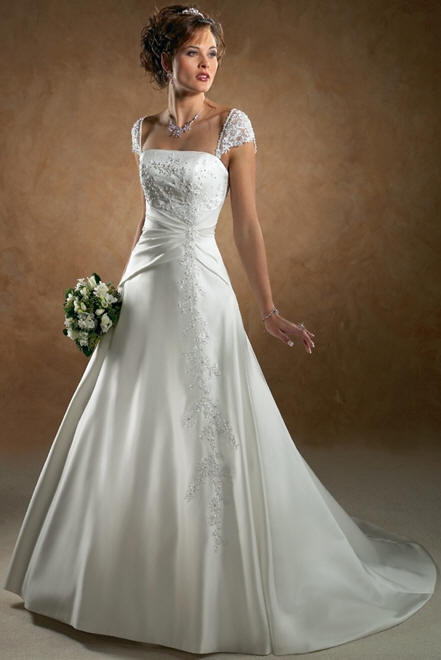 Wedding Dresses With Jewelry : Wedding dress pictures pic