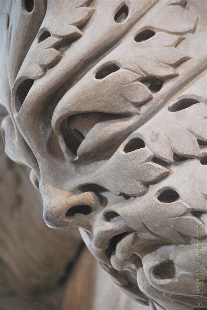 Ornamental Woodcarver Patrick Damiaens Green Man Or A