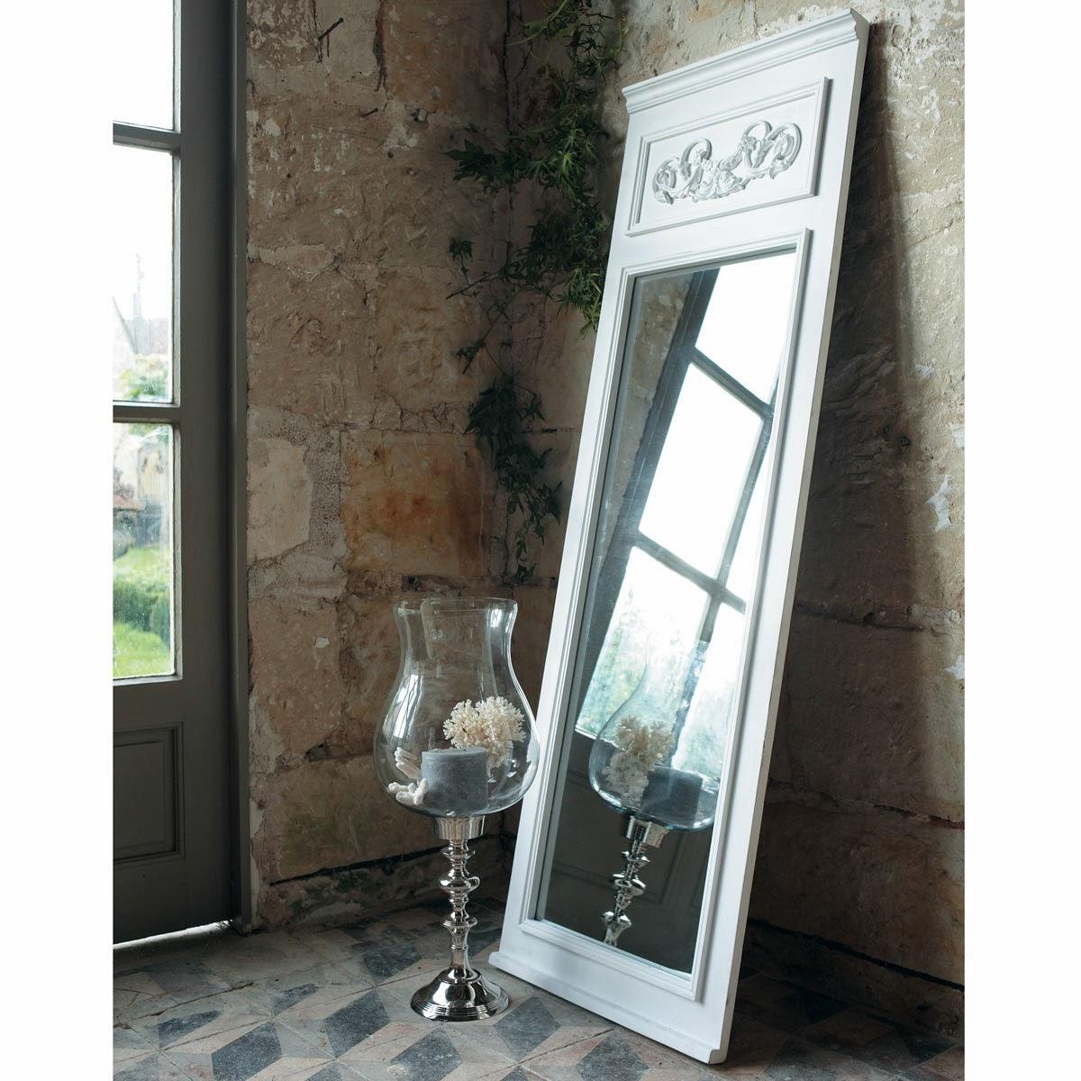 espejo con marco policromado de maison du monde