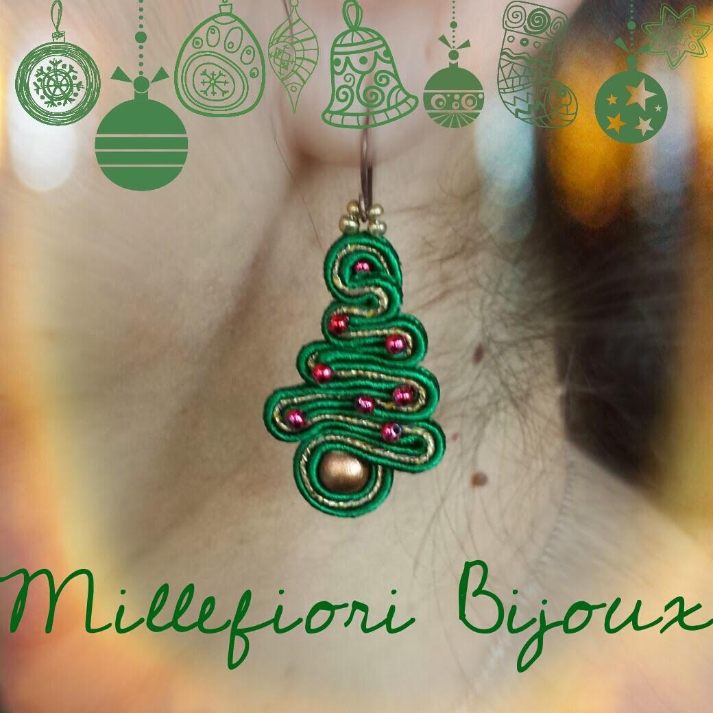 Millefiori bijoux orecchini natale 2013 for Gli alberelli prezzi