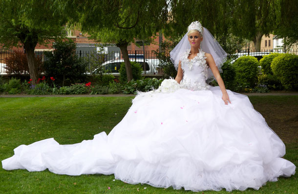 huge poofy wedding dresses