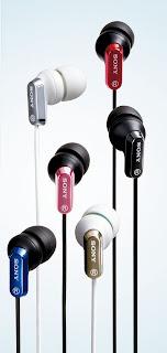 Sony MDR-EX35LP earphones