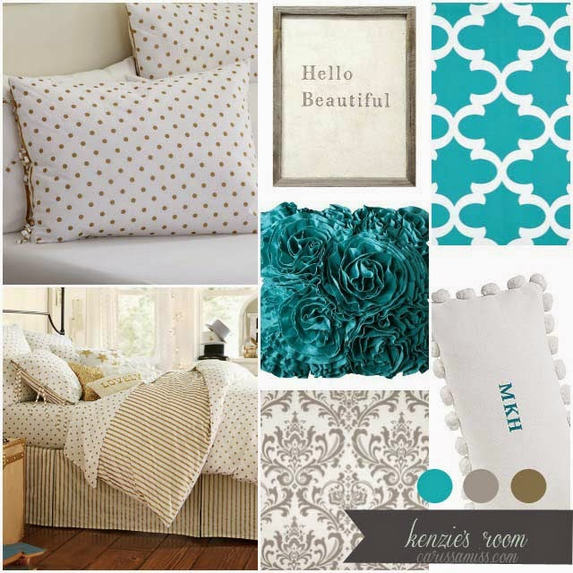 Carissa Miss: Kenzie's Big Girl Room Design
