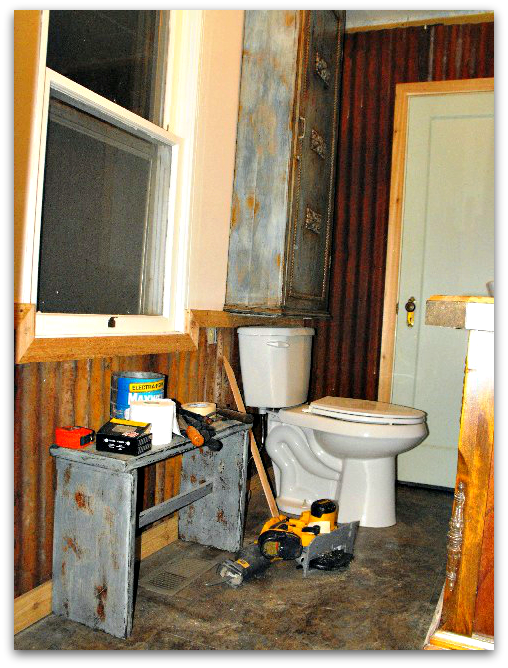 Bathroom Renovation Ideas Old House : Lace crazy old house bathroom remodel