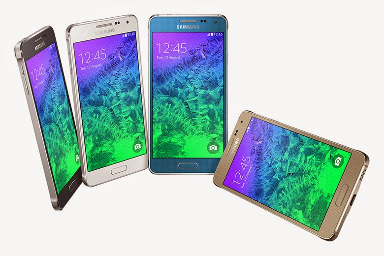 Samsung Galaxy Alpha is official, complete with shiny metal frame, available September