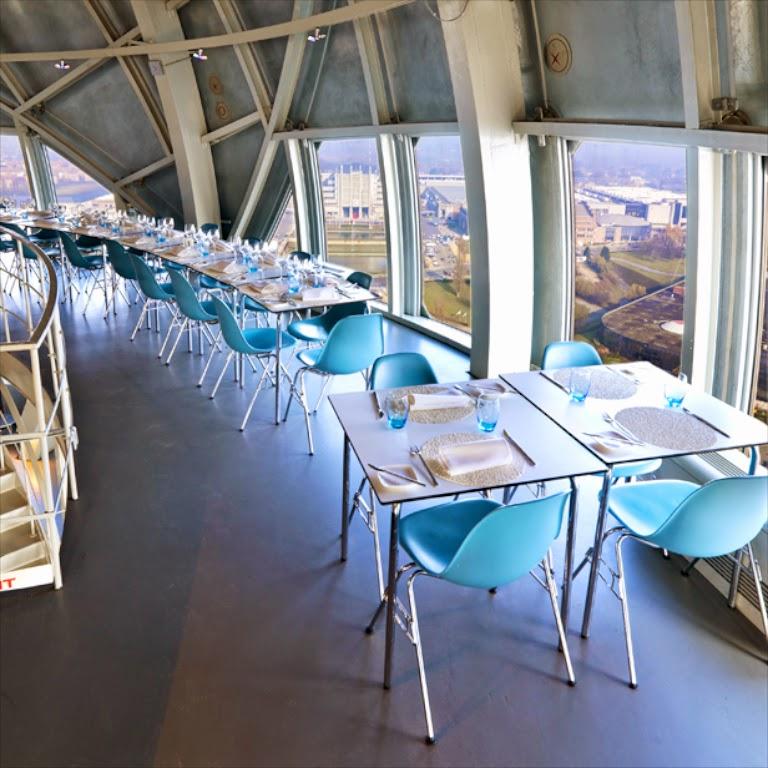 Atomium Bruselas Restaurante