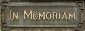 Em memória daqueles que nos precederam