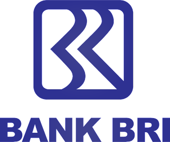 Logo Bank BRI transparent background