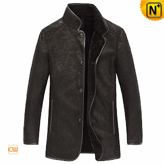 Embossed Sheepskin Jacket