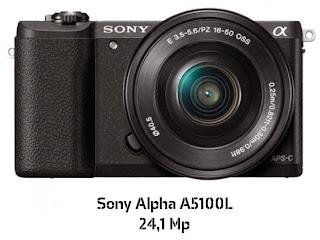 Harga dan Spesifikasi Sony A5100L 24MP