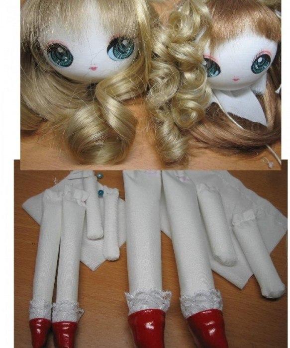 Как сделать мою куклу красивой 254