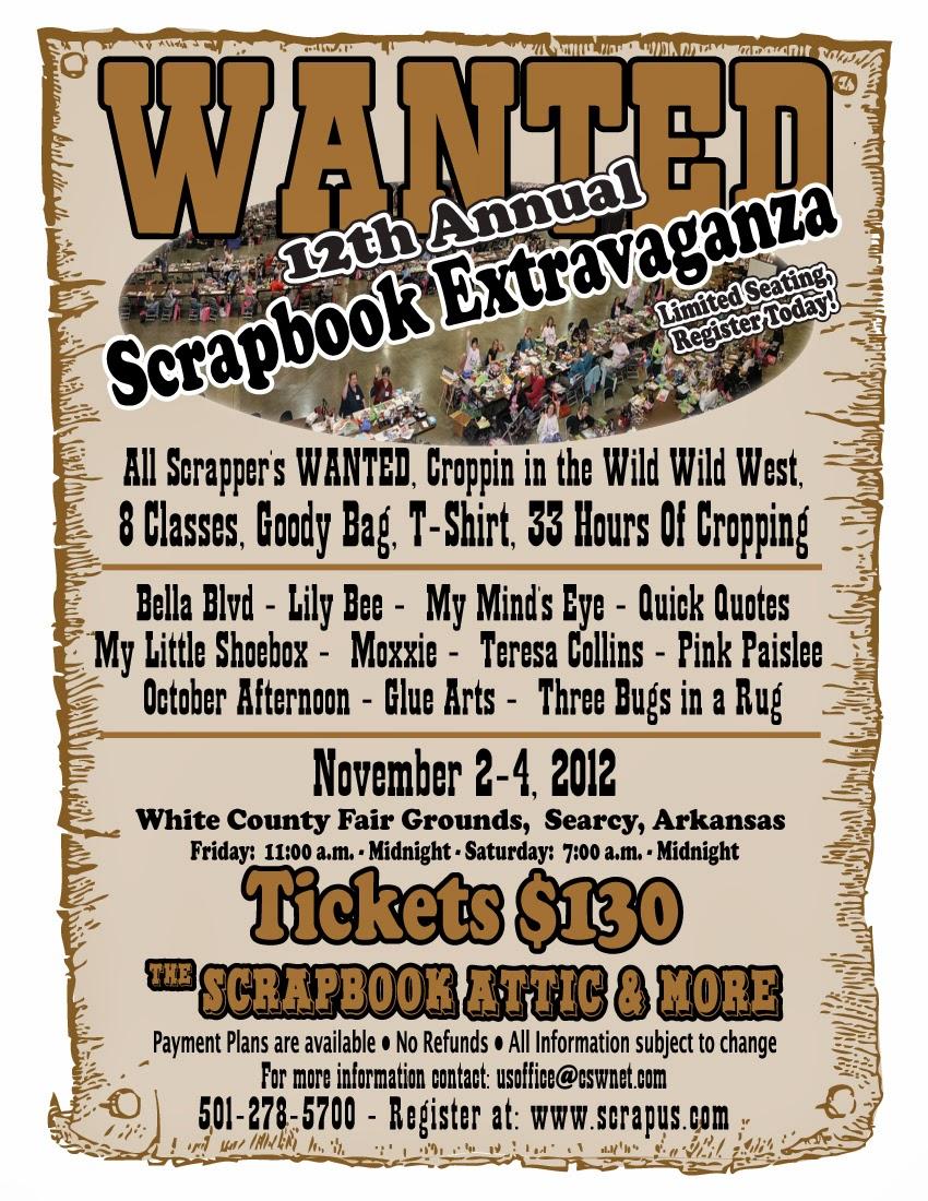 Flyer for 2012 Extravaganza