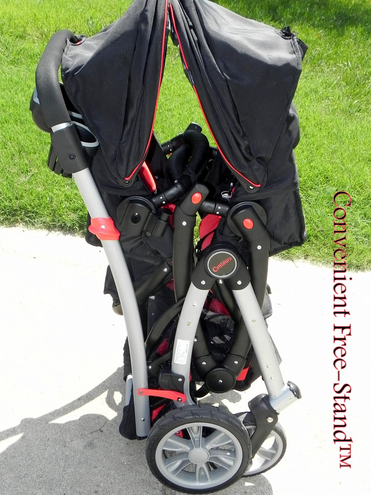 Contours Optima Tandem Stroller Car Seat Adapter