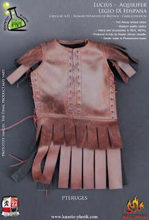 """Kaustic Plastic 1/6 scale """"Lucius"""" Aquilifer Legio IX Hispana figure"""