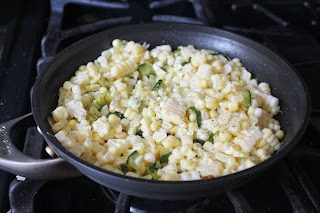 Zucchini and corn