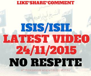 ISIS New Video No Respite