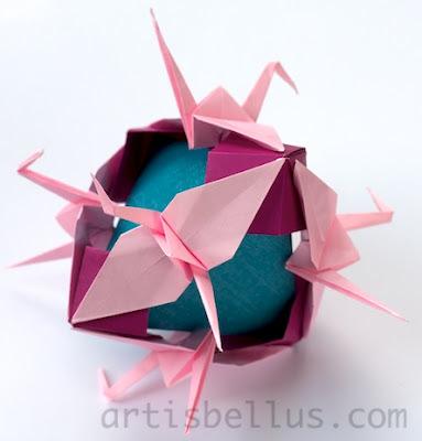 Origami Cranes Modular