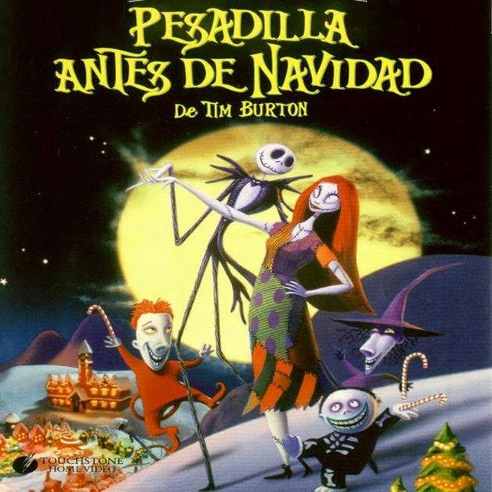 ESPECIAL NAVIDAD: Dia 1. Pesadilla antes de Navidad (1993) de Henry Selick.
