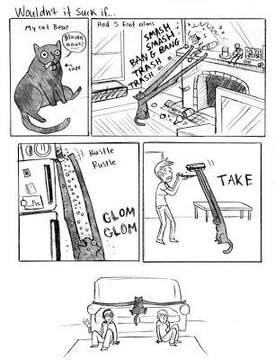 Tirinha de gato