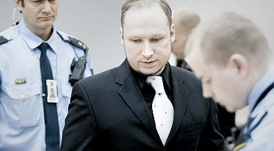 Breivik in black