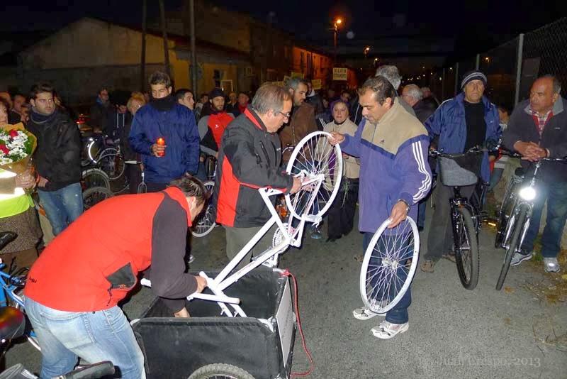 Bicicleta Blanca Murcia: 2013