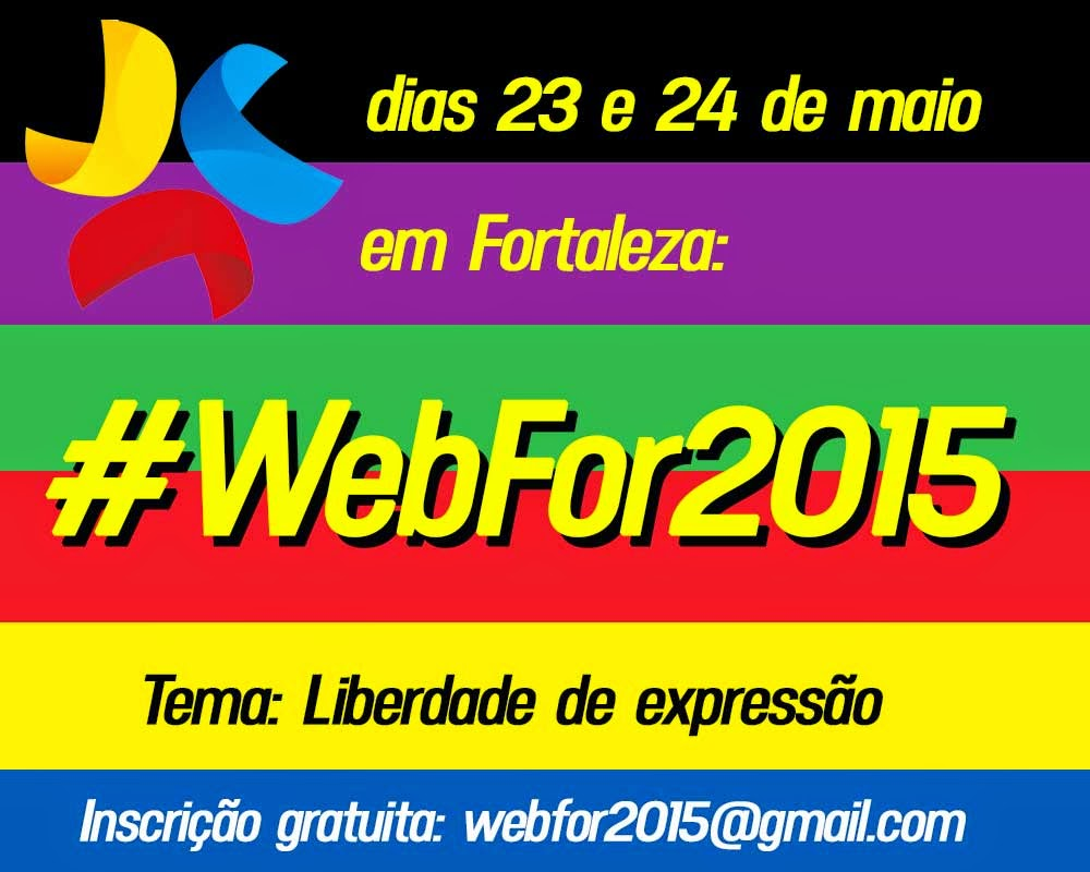 Participe do #WebFor2015