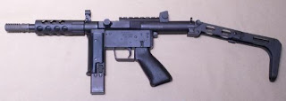 Floro MK 9 Submachine Gun