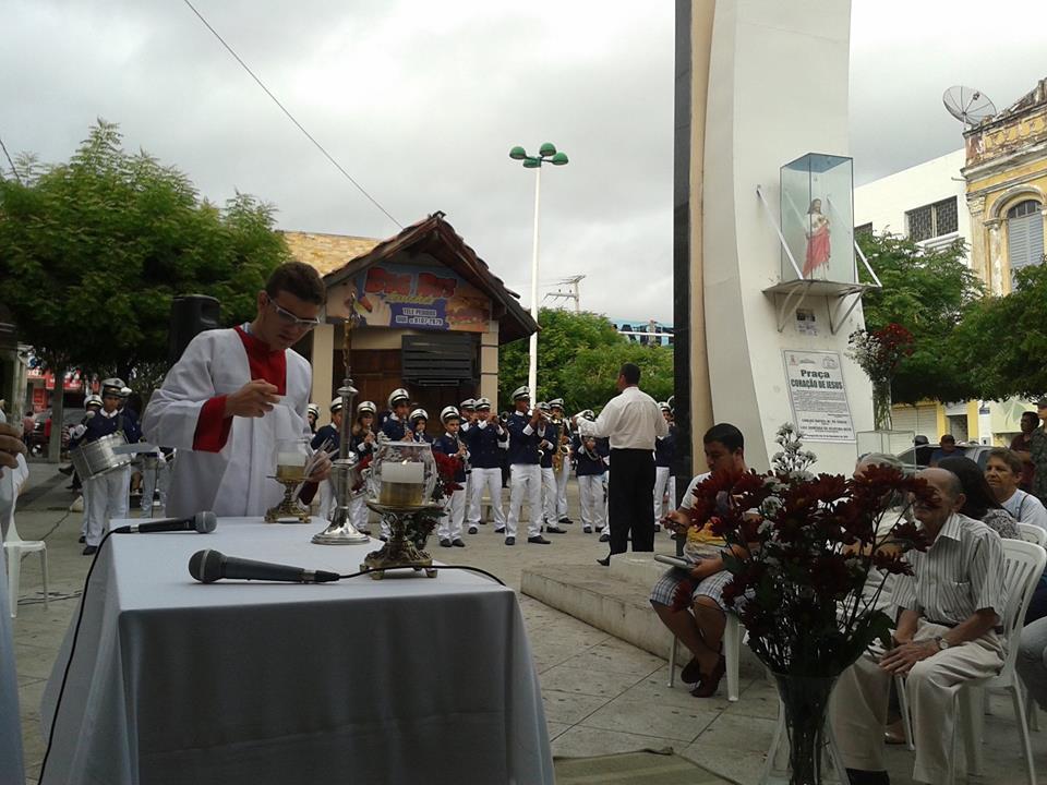 MISSA  CAMPAL DIA DO COMERCIANTE 16 DE JULHO