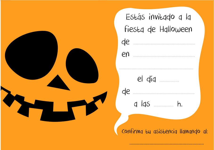 Marcos para photoshop y algo mas invitaciones para halloween - Fiesta halloween infantil ...