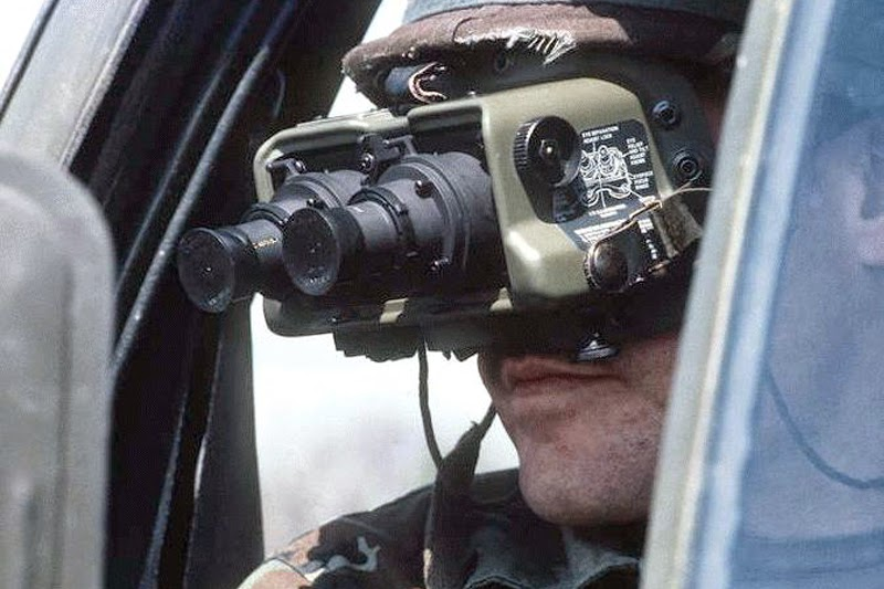 PVS5 night vision goggles
