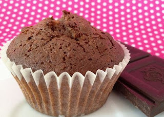 Muffin de chocolate e banana da Nigella na Ana Maria Braga