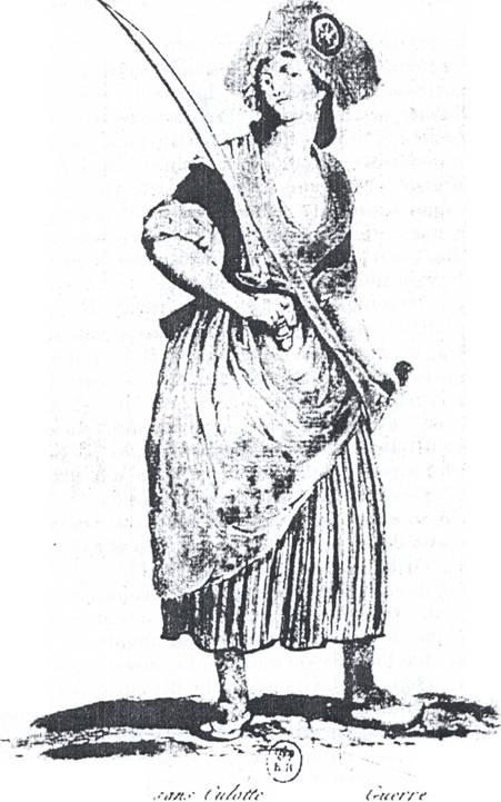 las mujer de la revolucion francesa: