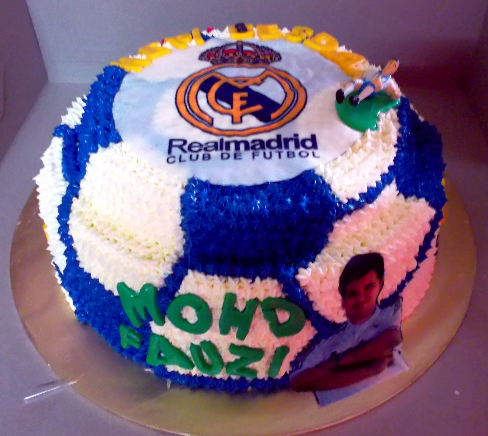 Birthday Cake Images Real : ReAl MadRiD (EuRo) BiRtHdaY CakEs ;) MY CUP CAKES FANTASY