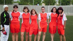 Equipo de fútbol femenino.