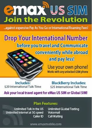 Communicate easily while abroad with emax communications